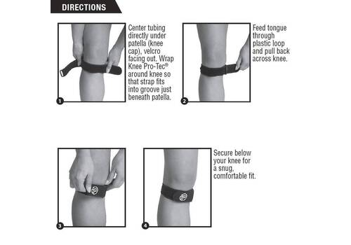 Knee Pro-Tec Patellar Tendon Strap
