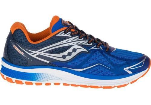 Saucony Ride 9 boys  Blue/Orange (5)