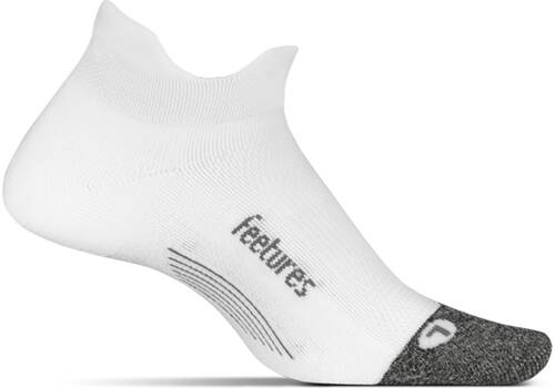 Feetures Elite Ultra Light No Show Tab  White (58)